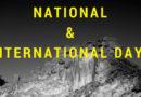Mezinárodní dny – které nám přinese měsíc duben?