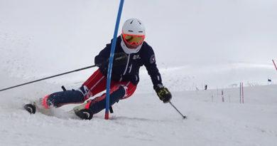 Alena Labaštová a alpské lyžování