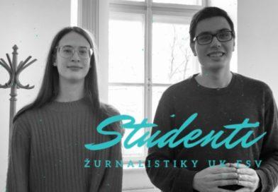 Studenti FSV UK: Proč se podílet na tvorbě školního média?