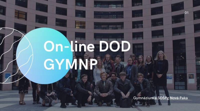 On-line Den otevřených dveří na GYMNP